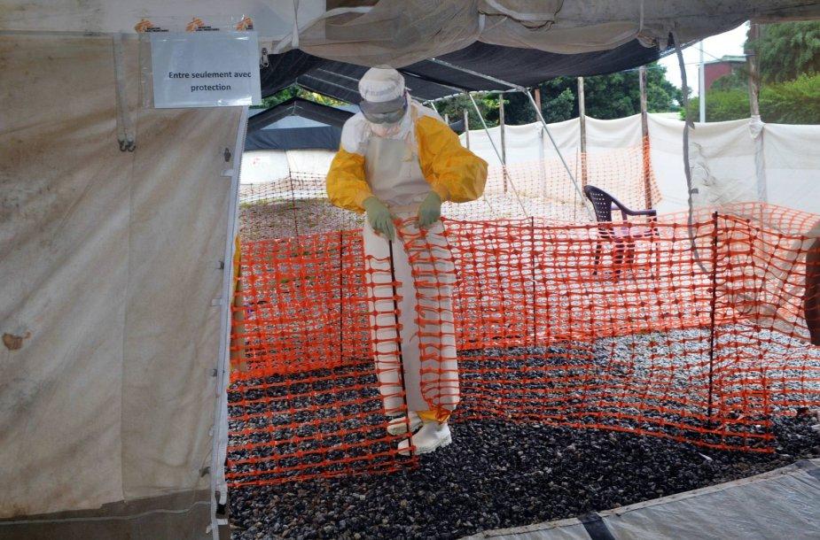 Ebolos virusu užsikrėtė du žmonės Kongo DR