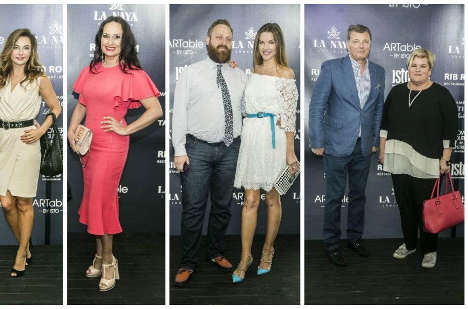 Sergejus Troščenkovas ir Asta Dagilienė, Inga Budrienė, Romualdas ir Alesia Mačiuliai, Darius ir Laima Mertinai