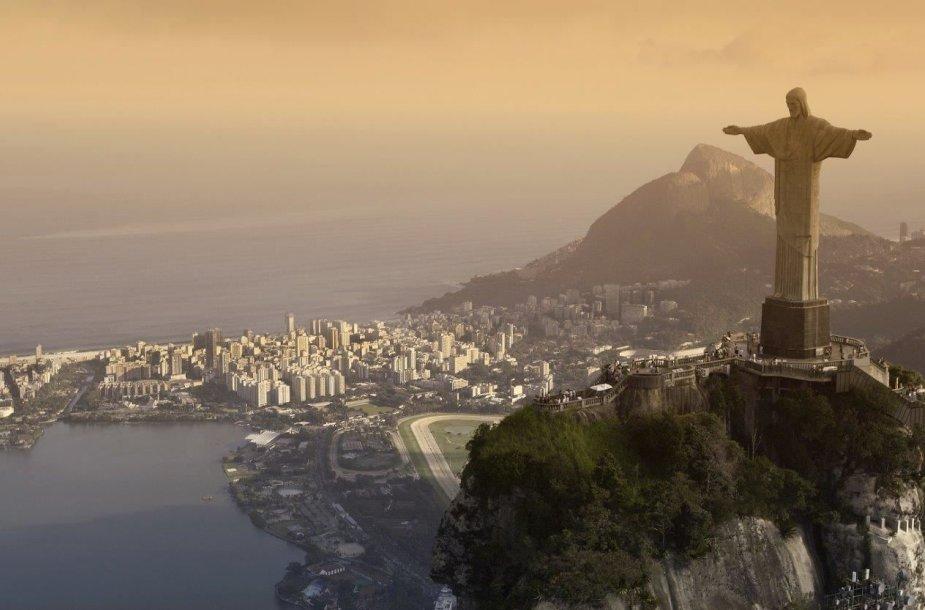 Kelionė į Braziliją. Rio geriausiai atsiskleidžia iš viršaus