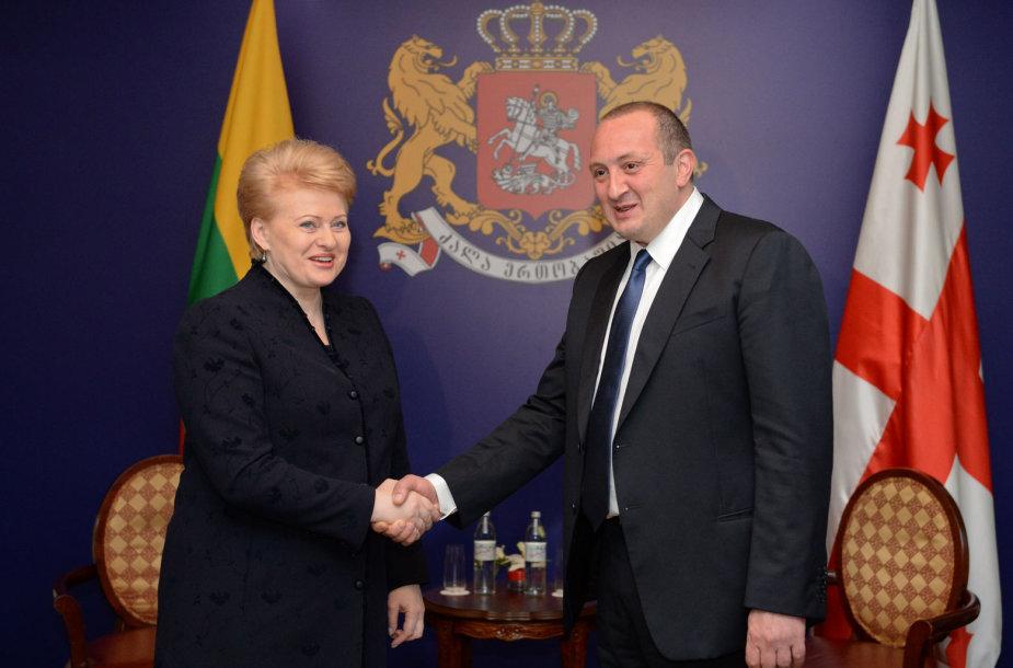 Gruzijos Prezidento Georgijaus Margvelašvilio inauguracija