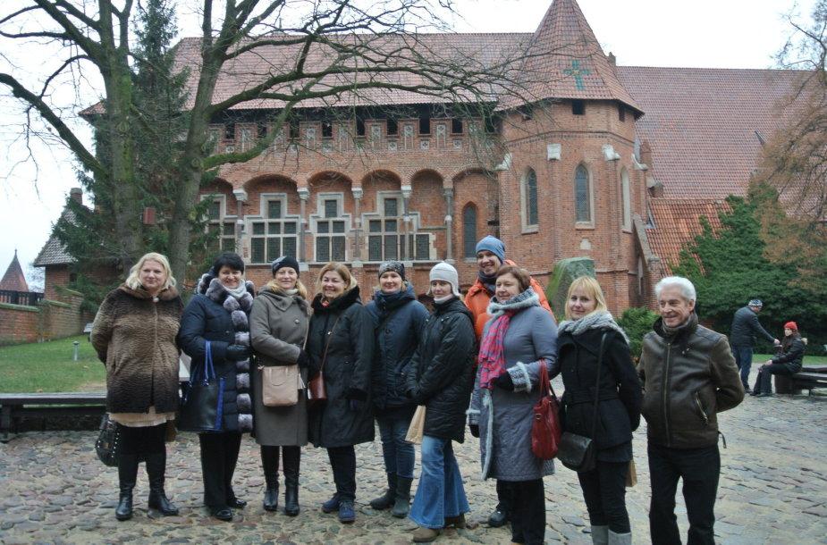 Lietuvos mokytojai Malborke