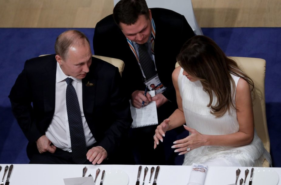 V.Putinas ir M.Trump