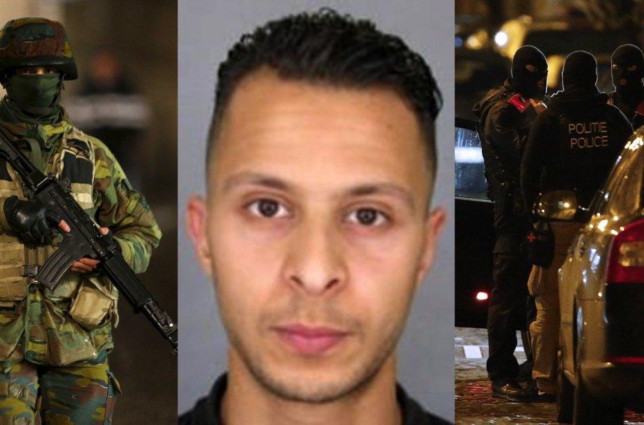 Belgijos pareigūnai medžioja Salahą Abdeslamą