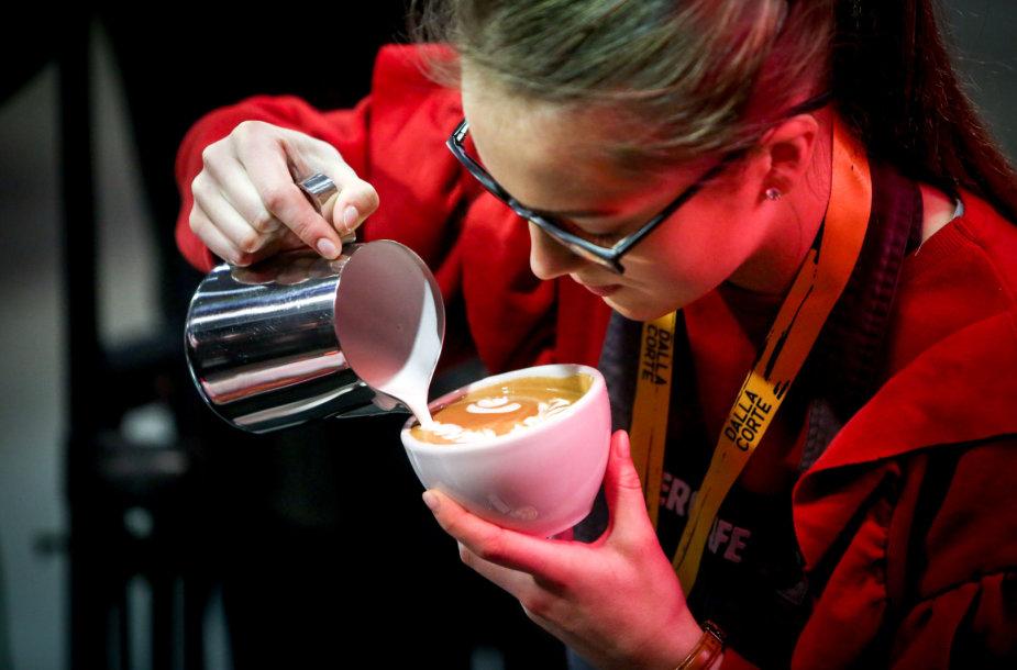 """""""Vilnius Coffee Festival"""" akimirka"""