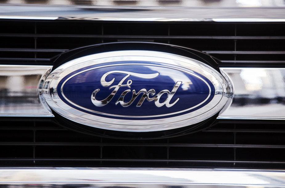 """Ford"" logotipas. Asociatyvi nuotr."