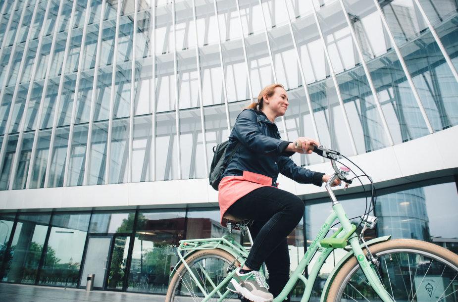 Masiškiauso važiavimo dviračiais į darbą rekordas
