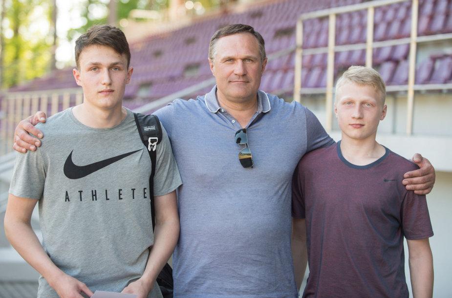 Martynas, Virgilijus ir Mykolas Aleknos