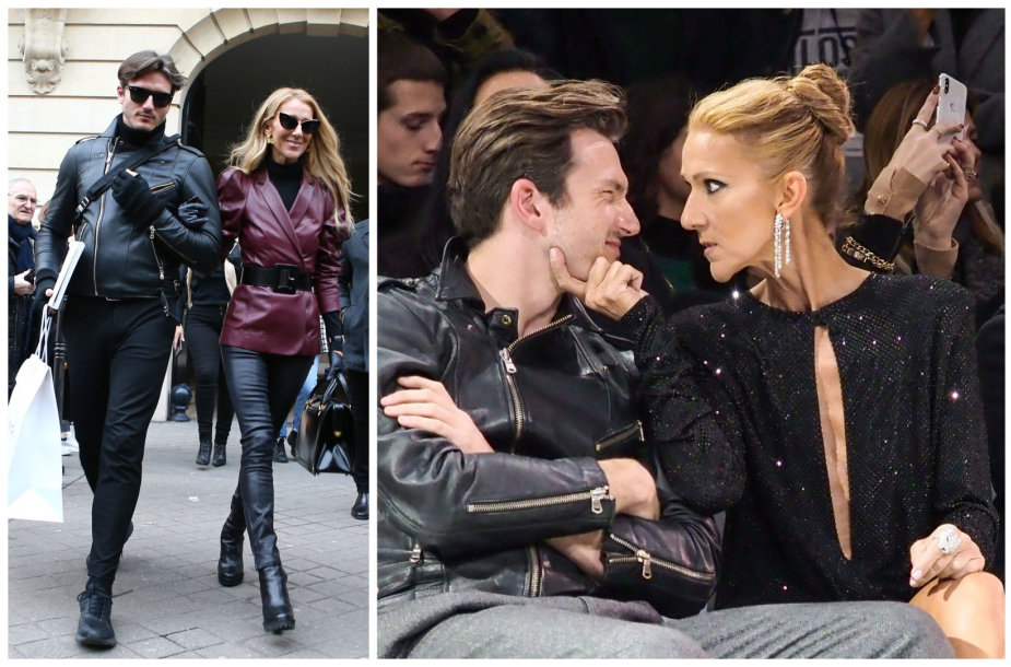 Celine Dion ir Pepe Munozas