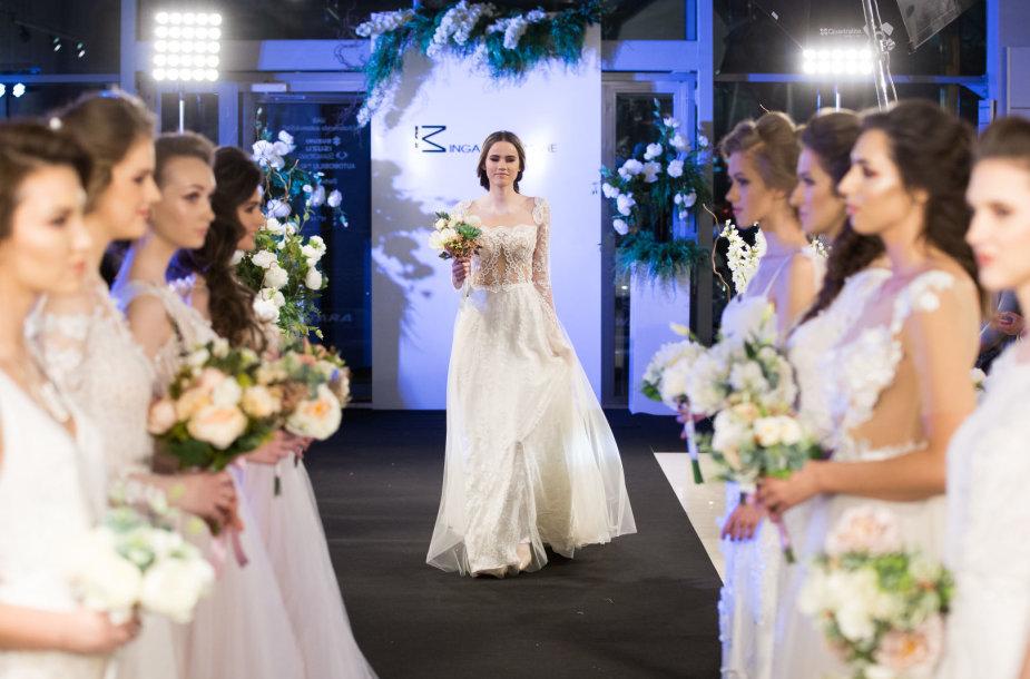 Ingos Miltienienės 2018 m. vestuvinių suknelių kolekcijos pristatymas
