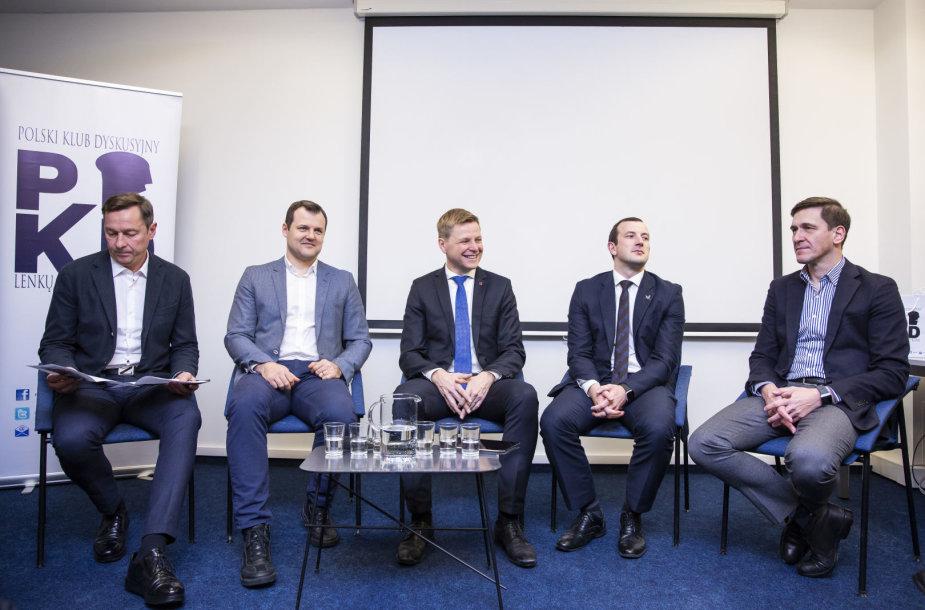 Artūras Zuokas, Virginijus Sinkevičius, Remigijus Šimašius, Gintautas Paluckas, Dainius Kreivys