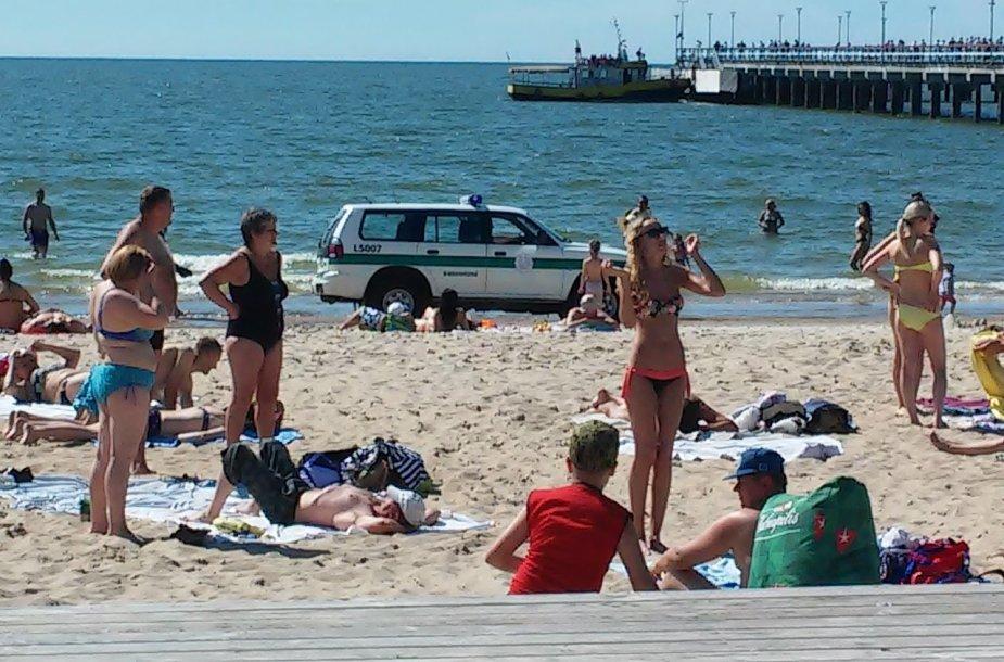 Palangos paplūdimiai
