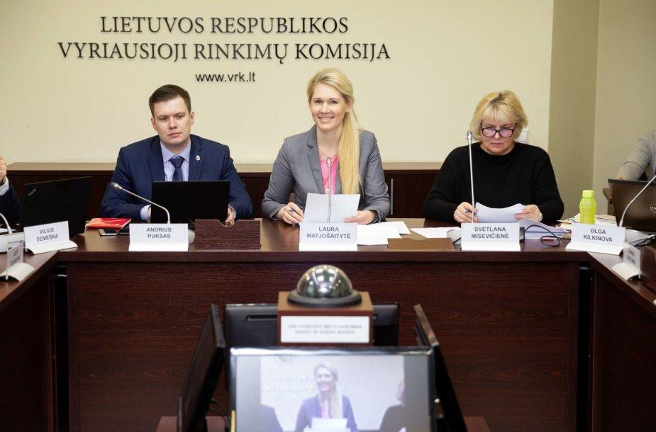 Andrius Puksas, Laura Matjošaitytė, Svetlana Misevičienė