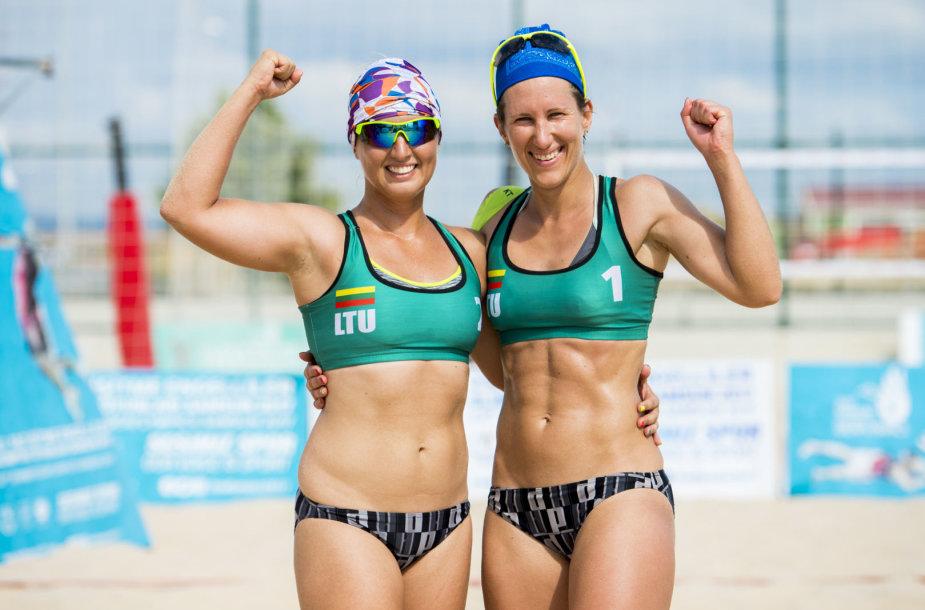 Ingrida Milkintaitė ir Birutė Aleknavičiūtė