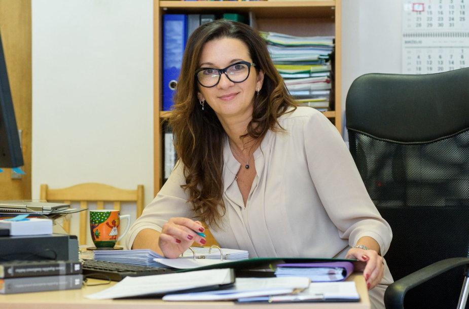 Klaipėdos apygardos teismo psichologė Aušra Augaitienė.