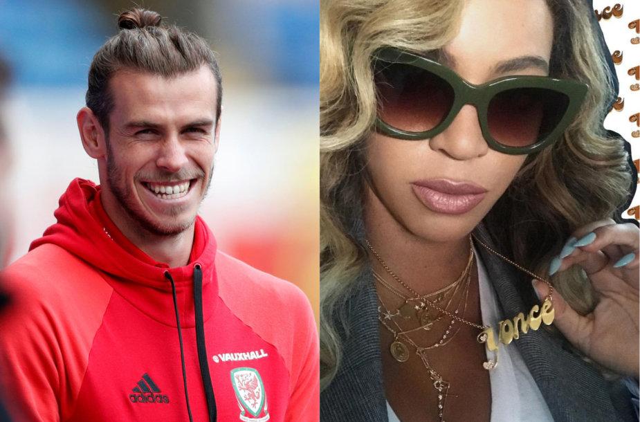 Garethas Bale'as ir Beyonce