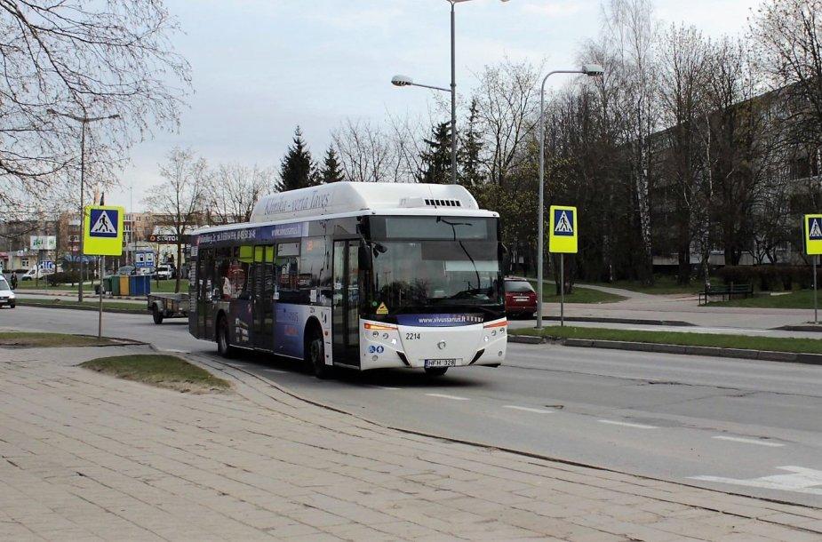 Viešasis transportas Panevėžyje