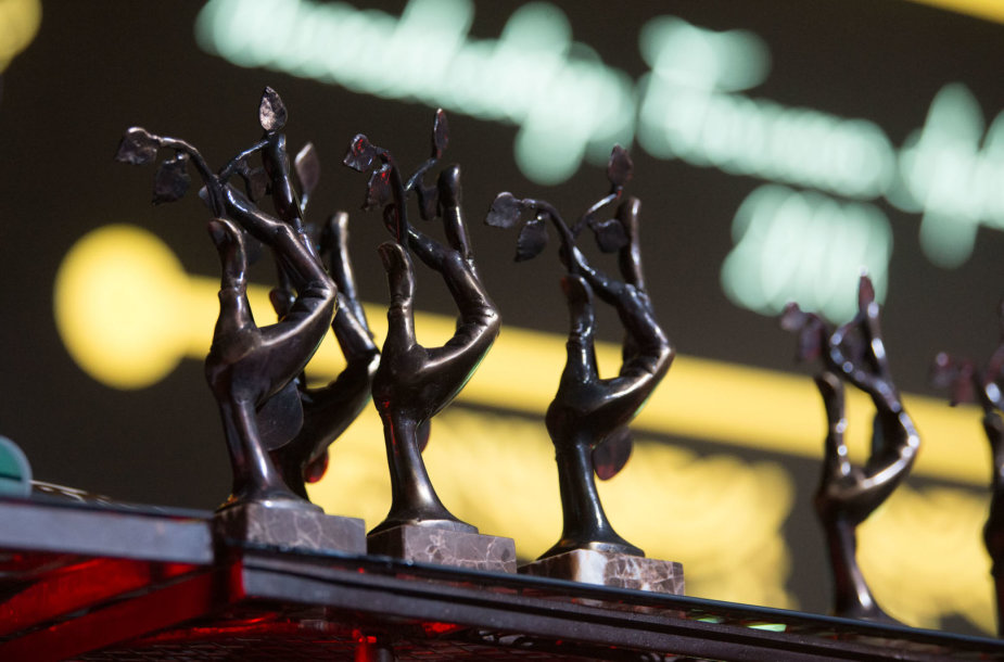 """Investors' Forum"" apdovanojimų akimirka"
