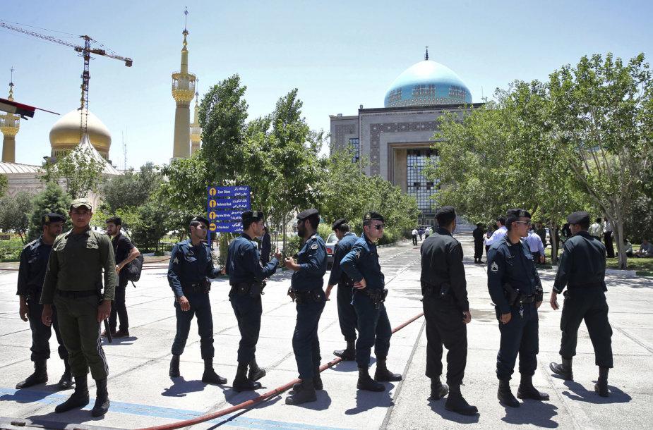 Irano policija