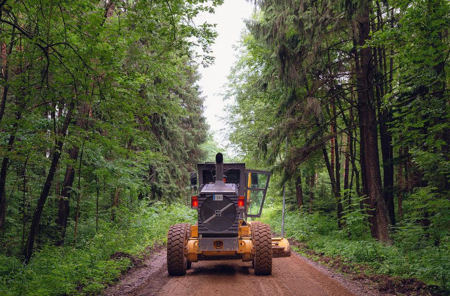 Darbai Kauno Kleboniškio miške