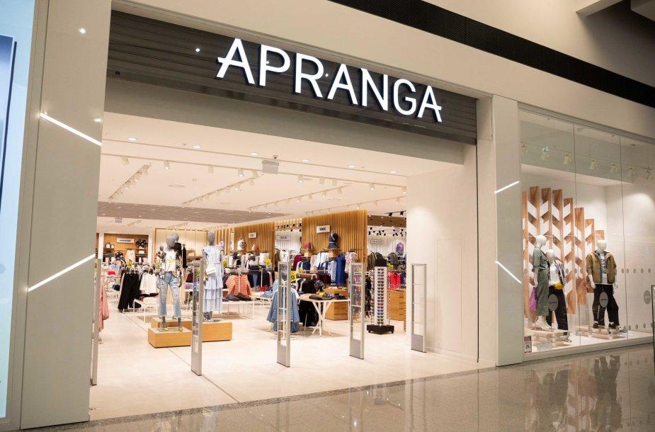 """Parduotuvė """"Apranga"""""""