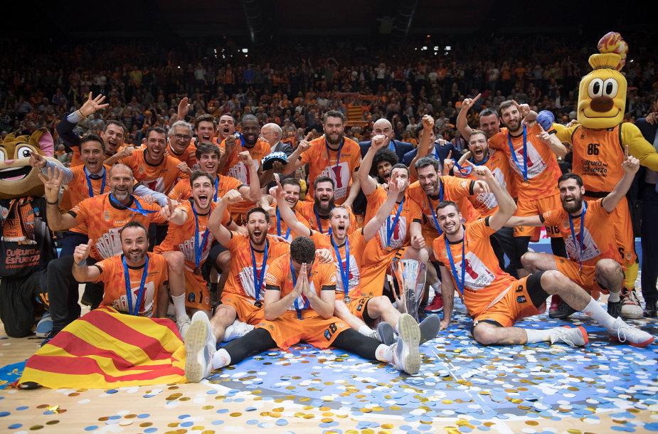 """""""Valencia"""" laimėjo Europos taurę"""