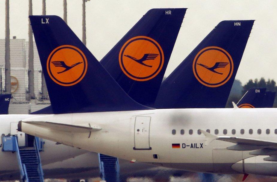 """Lufthansa"" lėktuvai"