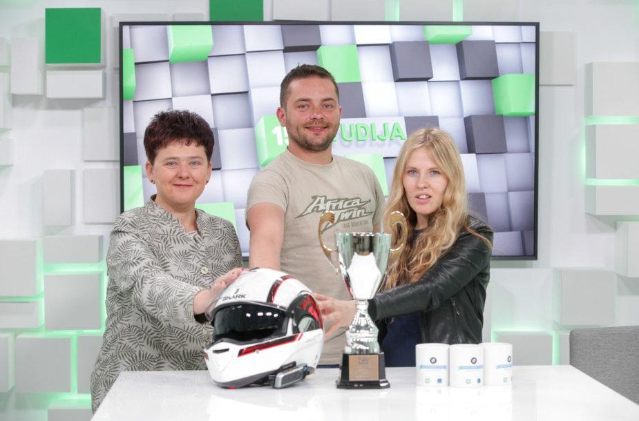 Diana Varnaitė, Rytis Markevičius ir Birutė Vaitkutė