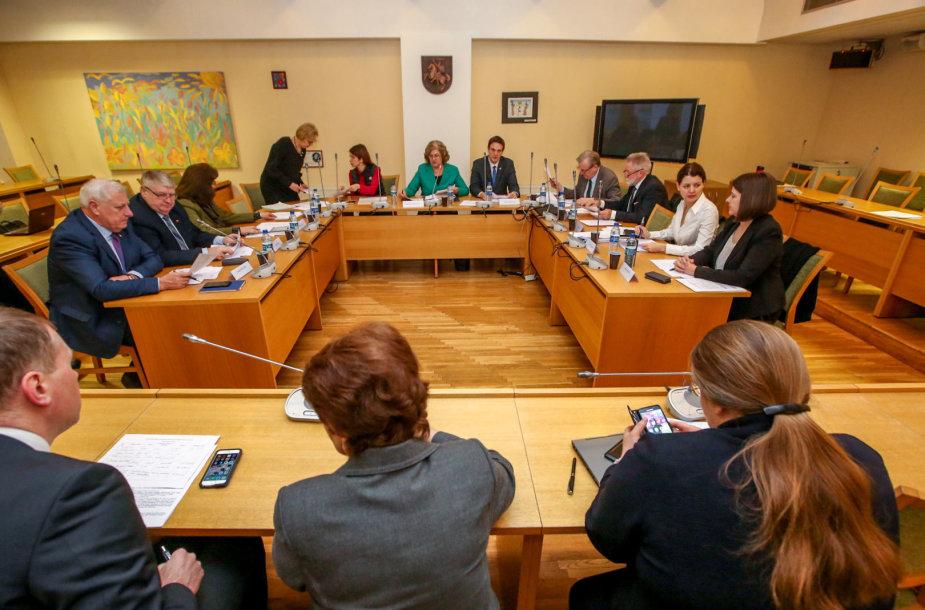 Seimo Socialinių reikalų ir darbo komiteto posėdis
