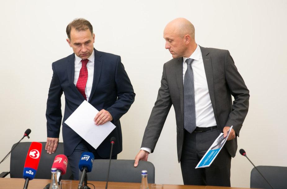 Rokas Masiulis ir Saulius Urbanavičius