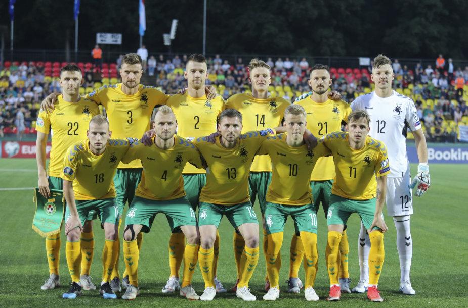 Europos futbolo čempionato atranka: Lietuva – Liuksemburgas