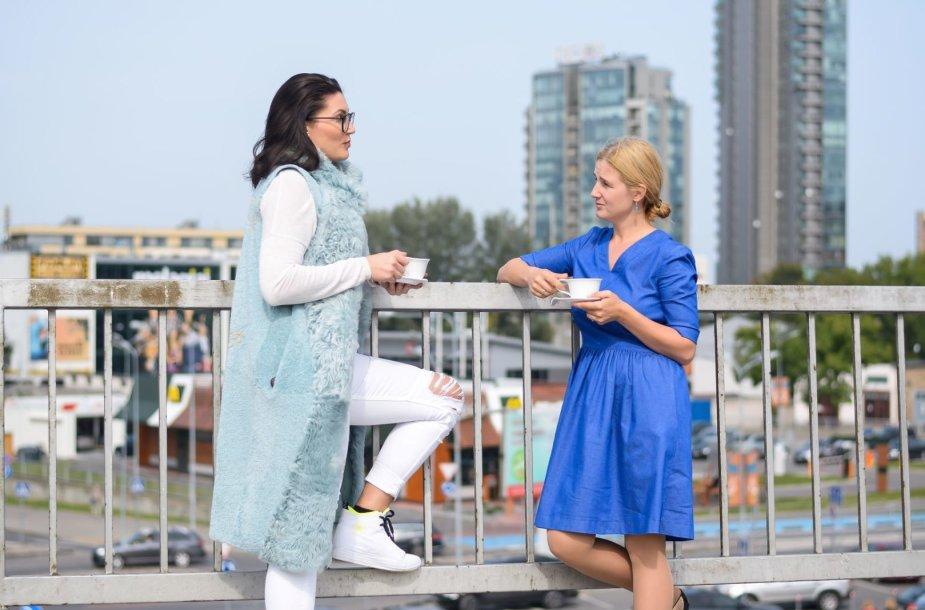 Vilma Vaitiekūnaitė (kairėje) ir Skaistė Vasiliauskaitė-Dančenkovienė