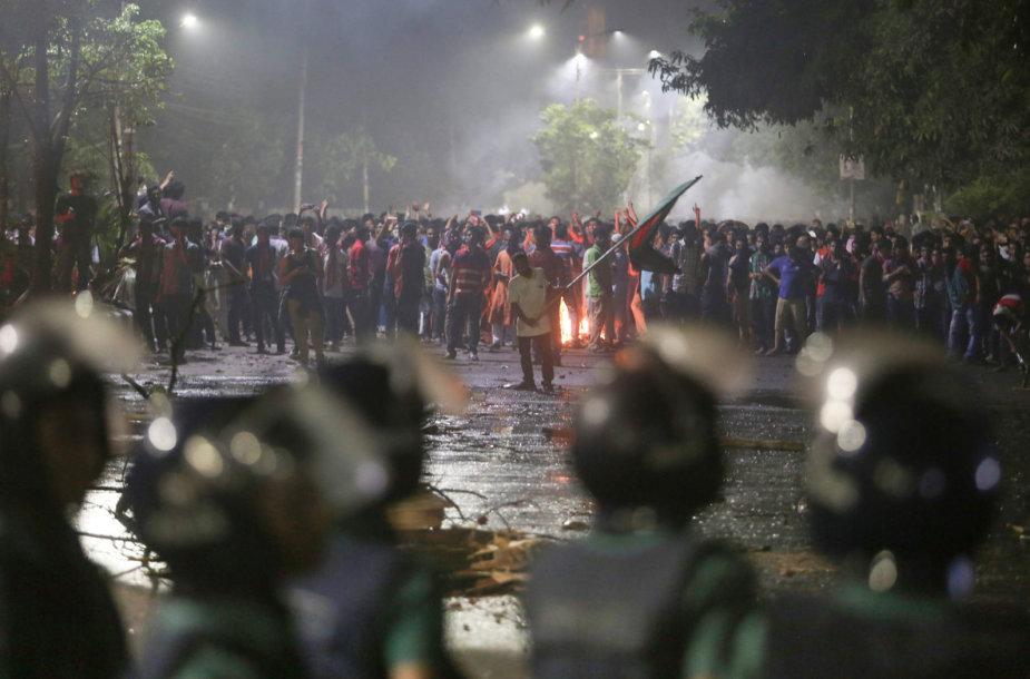 Protestai Bangladeše
