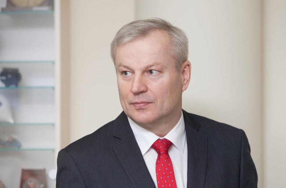 Mindaugas Bastys atvyko į VRK komisiją