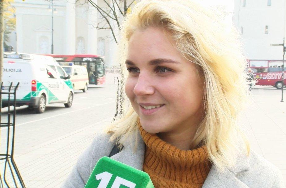Apklausa Vilniaus gatvėse