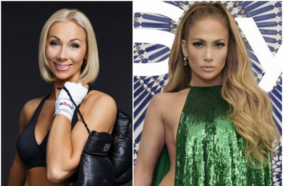Rasa Vilkienė ir Jennifer Lopez