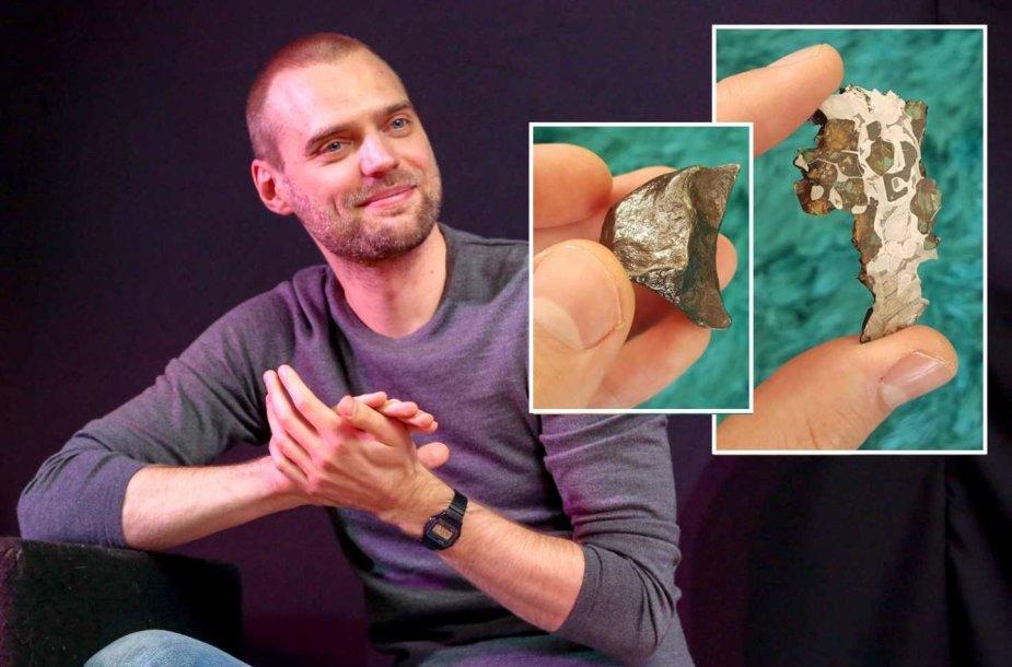 Tado Vidmanto meteoritų kolekcija