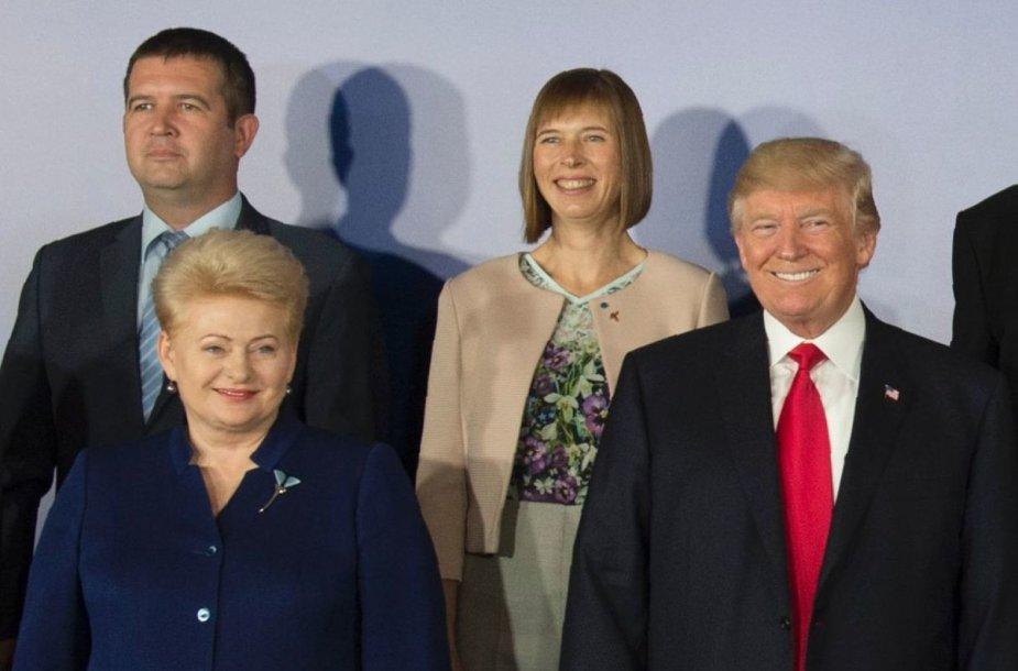Dalia Grybauskaitė ir Donaldas Trumpas