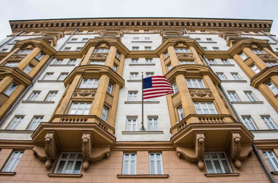 JAV ambasados pastatas Maskvoje