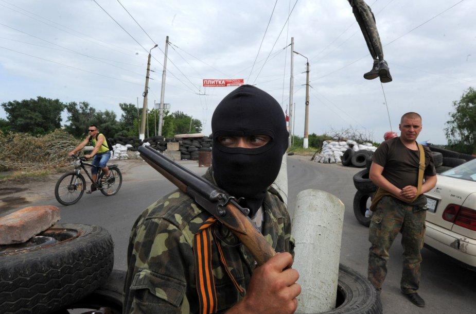 Teroristai rytų Ukrainoje
