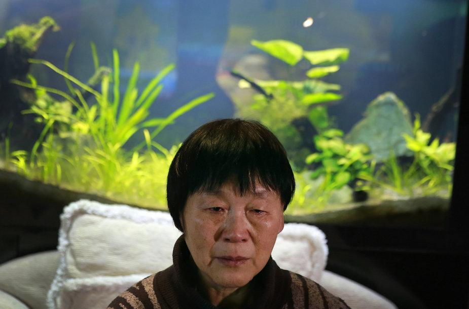 "Dingusio ""Malaysia Airlines"" lainerio keleivės sesuo Dai Shuqin"
