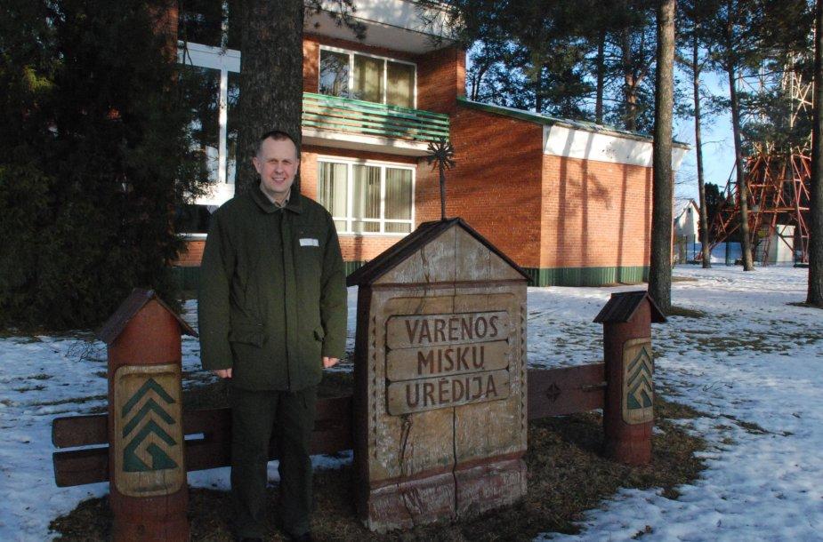 Tomas Bazevičius, Varėnos miškų urėdas