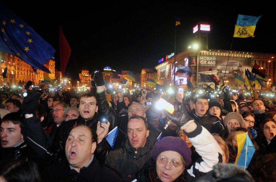 Demonstracija Ukrainoje