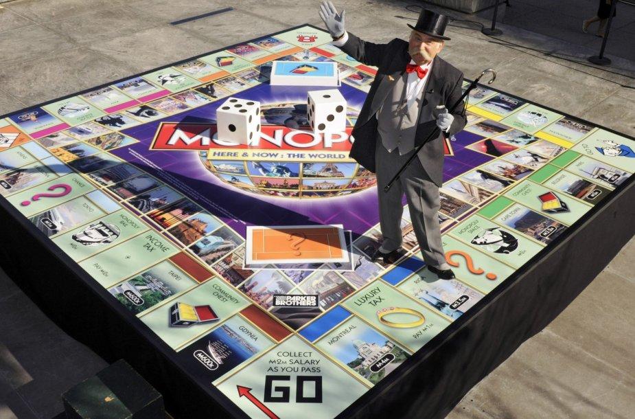 Hasbro gaminamas žaidimas Monopolis