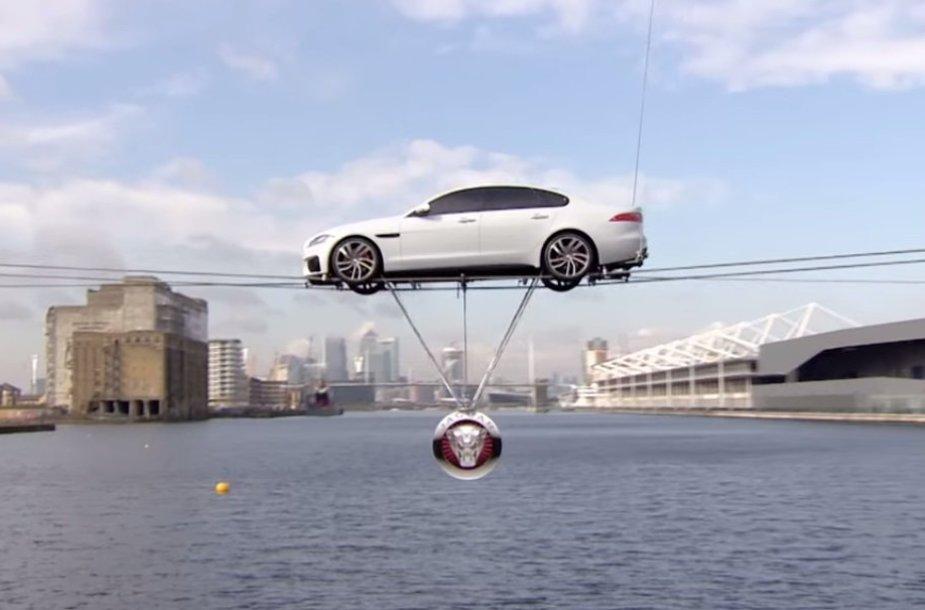 """Jaguar XF"" pristatymas"
