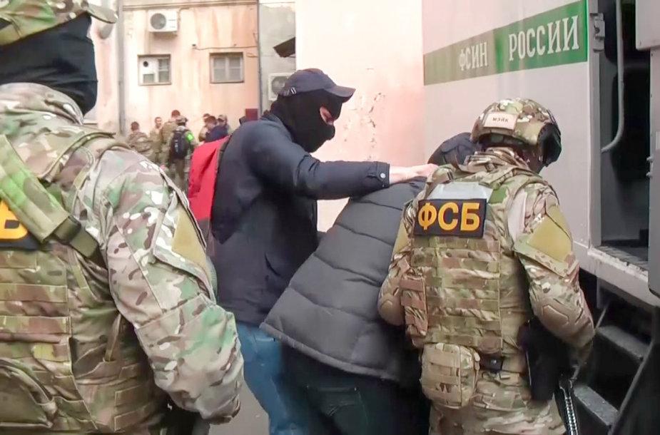 Areštai Rusijoje