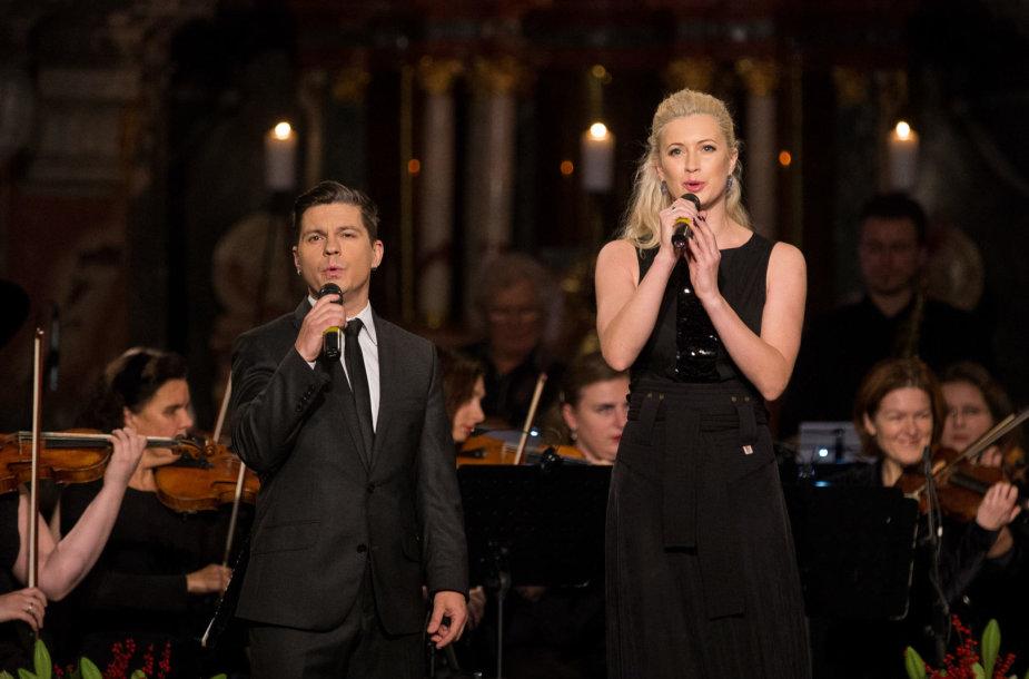 Deivis Norvilas ir Renata Voitechovskaja