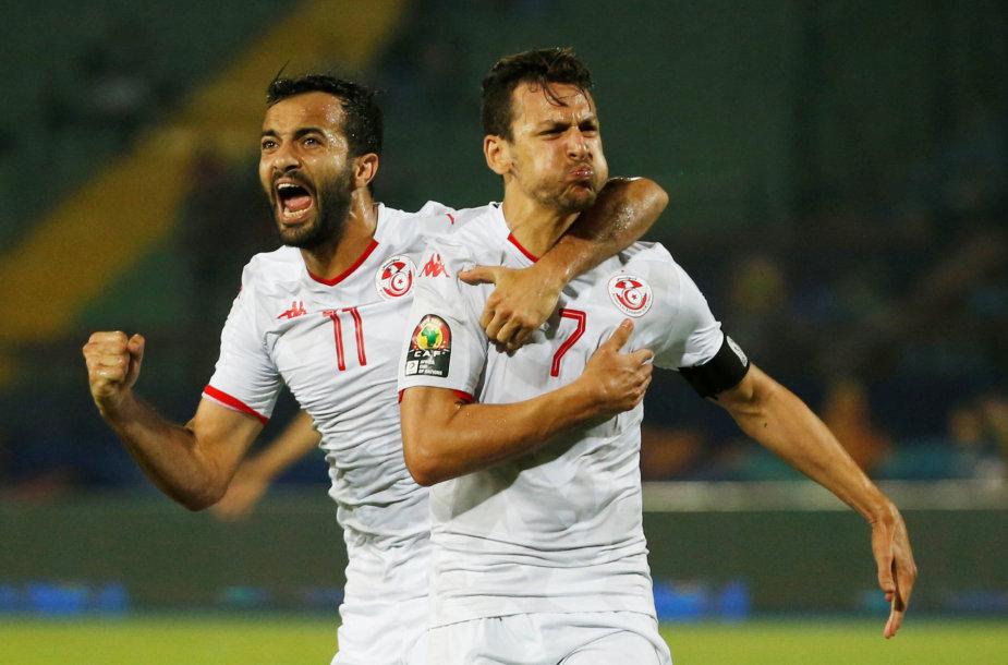 Tuniso futbolininkai
