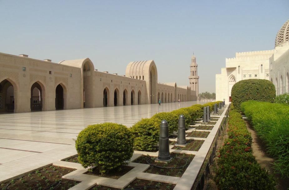 Sultono Kabuso Didžioji mečetė. Maskatas
