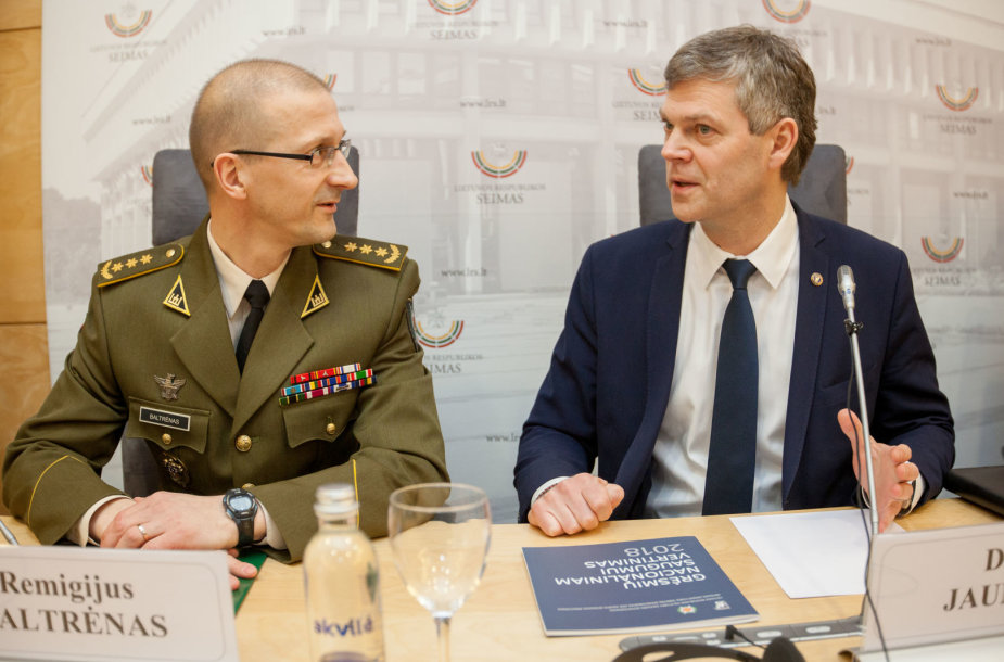 Remigijus Baltrėnas ir Darius Jauniškis
