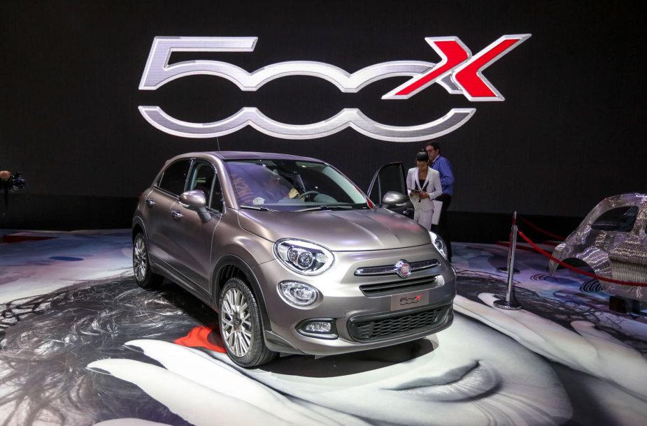 """""""Fiat"""" krosoverio 500X"""